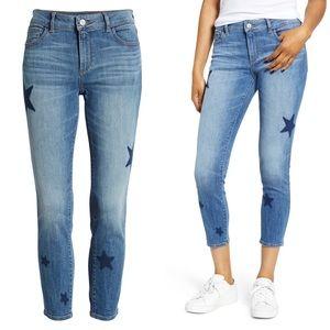DL1961 Florence Instasculpt Star Crop Skinny Jeans